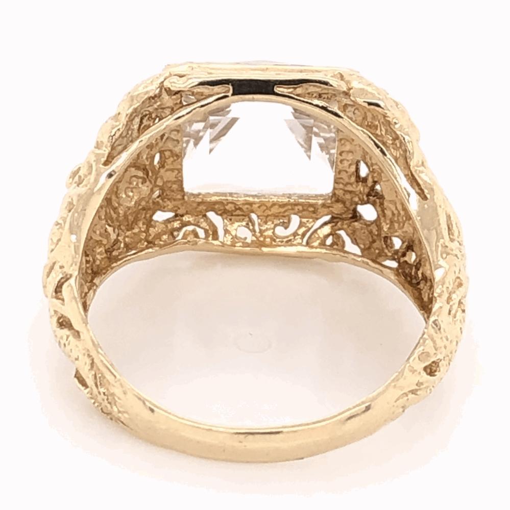Image 2 for 14K Yellow Gold Sanidine Feldspar Ring 5.6g