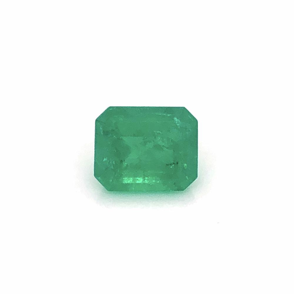4.52ct Emerald Cut Green Emerald 11.33x9.29x6.51mm