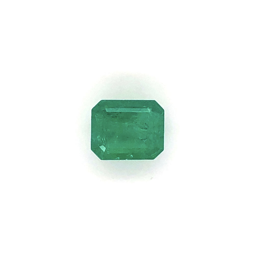 Image 2 for 4.52ct Emerald Cut Green Emerald 11.33x9.29x6.51mm