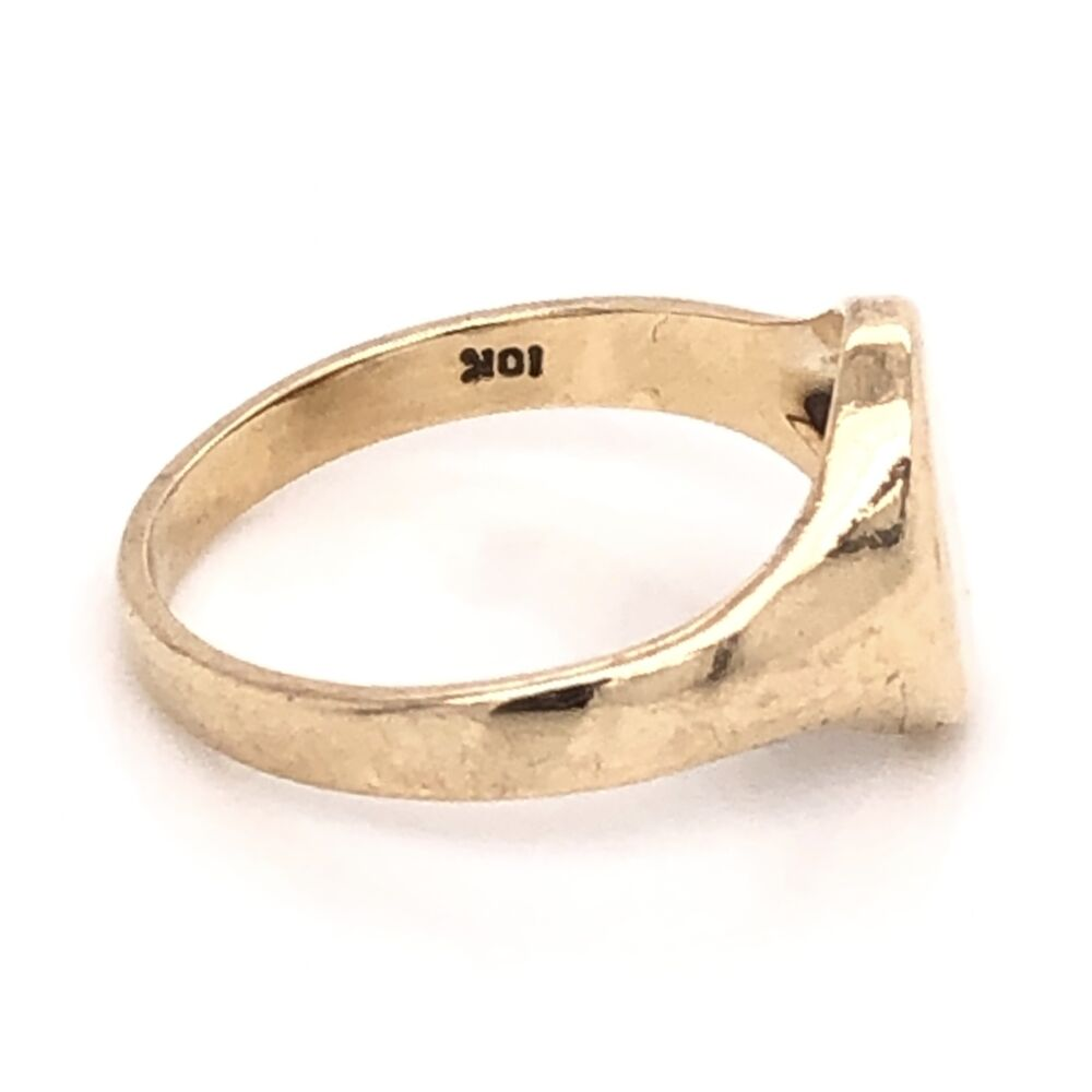 Image 2 for 10K Yellow Gold Victorian Signet Ring 2.4g, s5