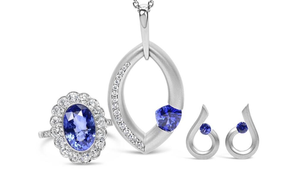 Image 2 for Platinum Art Deco 4.07ct NO HEAT Oval Sapphire GIA & 1.30tcw Diamond Halo Ring 6.6g, s6.5