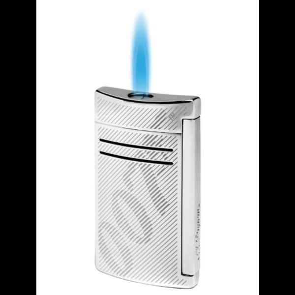 Closeup photo of S.T. Dupont Limited Edition Maxijet Chrome James Bond Cigar Lighter