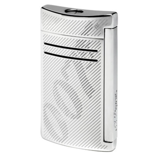 Closeup photo of S.T. Dupont Limited Edition Maxijet Chrome James Bond Cigar Lighter