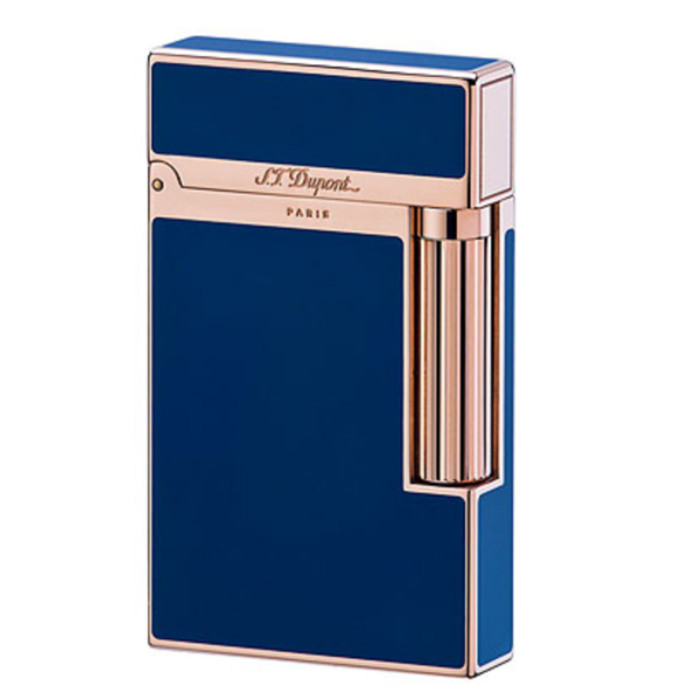 ST Dupont Ligne 2 lighter blue Chinese lacquer