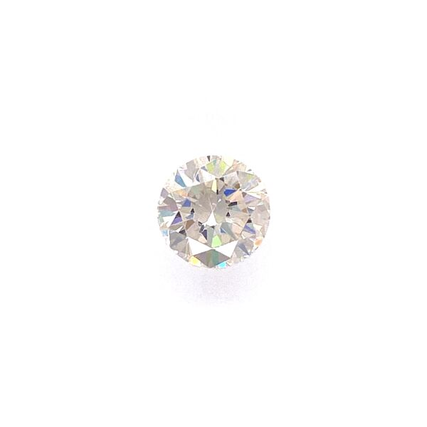Closeup photo of 2.86ct Round Brilliant Moissanite 8mm