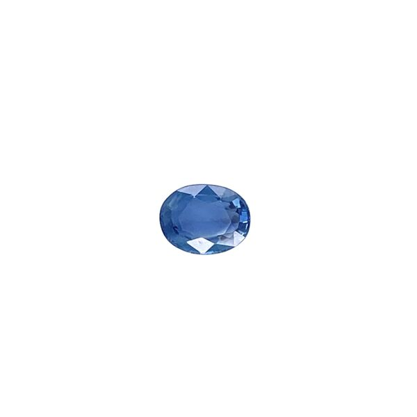Closeup photo of 1.16ct Oval Loose Sapphire GIA 6.84x5.31x3.39