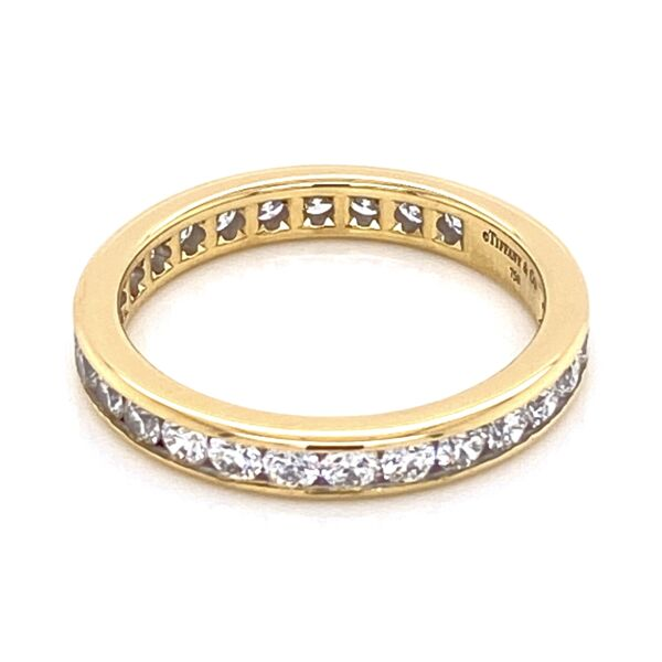 Closeup photo of TIFFANY & CO Diamond Eternity Band
