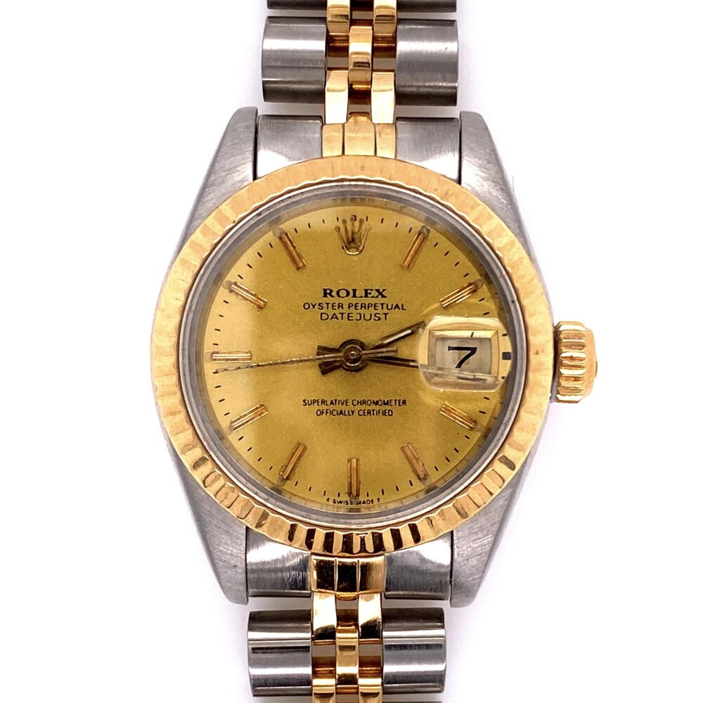 Image 2 for Ladies Rolex 69173 26m 2tone 18K Stainless Steel Watch 2020 Service!