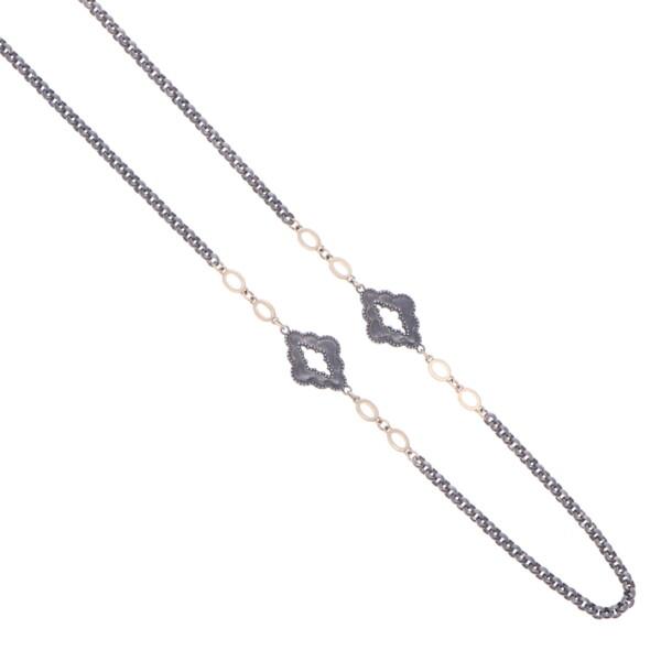 Closeup photo of Cynthia Ann Jewels Layering Chain