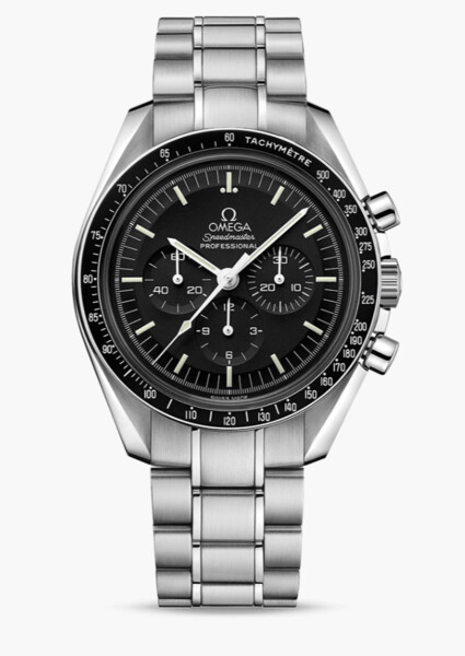 Closeup photo of Omega Moonwatch Professional Chronograph 42mm