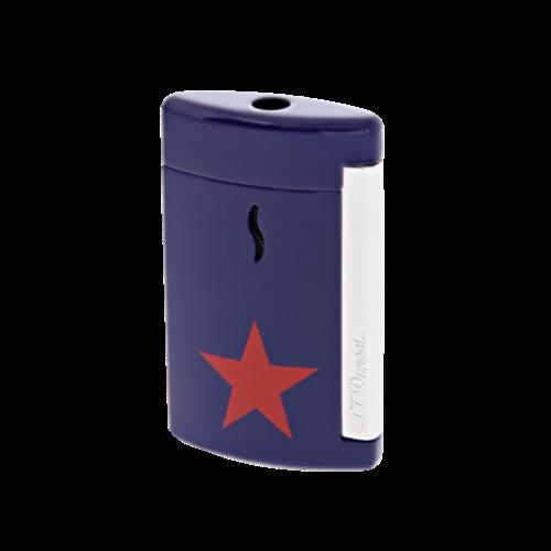 S.T. Dupont Minijet Star Lighter, Chrome, Blue, 010530 - Platinum 1911