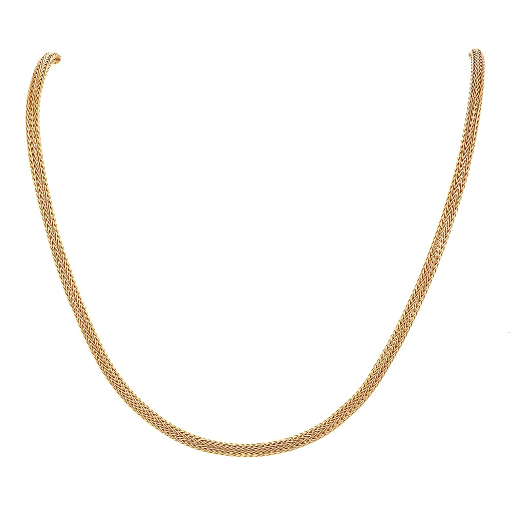 """Image 2 for 14K YG 2.5mm Rope Chain Necklace 6.8g, 16"""""""