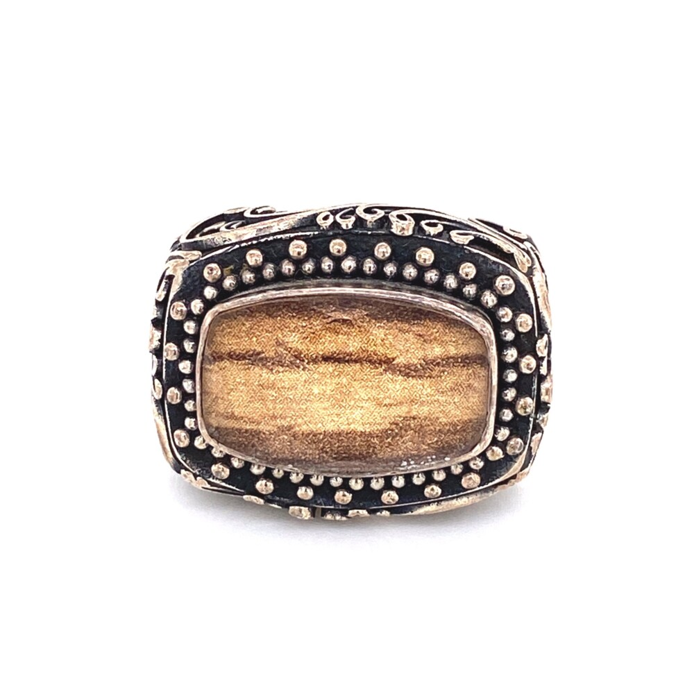Image 2 for 925 Sterling Lori Bonn Doublet Ring 14.8g, s7.75