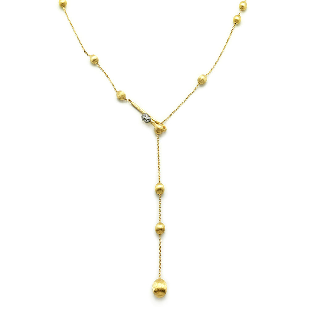 Dancing In The Rain Bolo Wrap Necklace