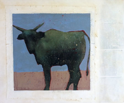 Closeup photo of Wild Steer I