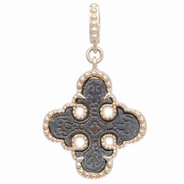 Closeup photo of Artifact Maltese Cross Pendant