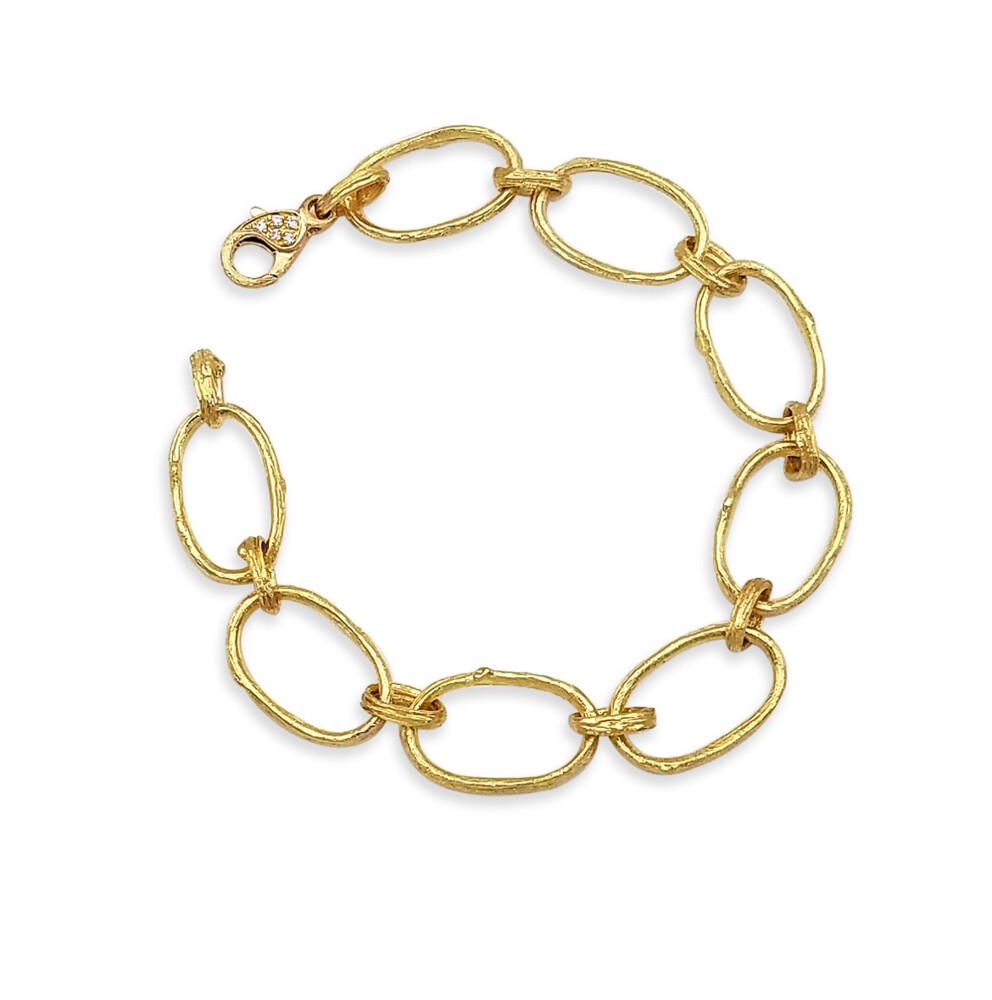 Olive Branch Link Bracelet