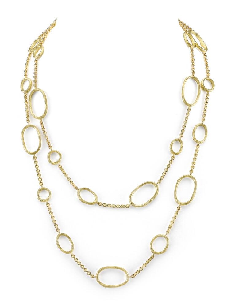 Image 2 for Olive Branch Link Necklace