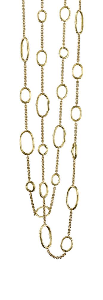 Olive Branch Link Necklace