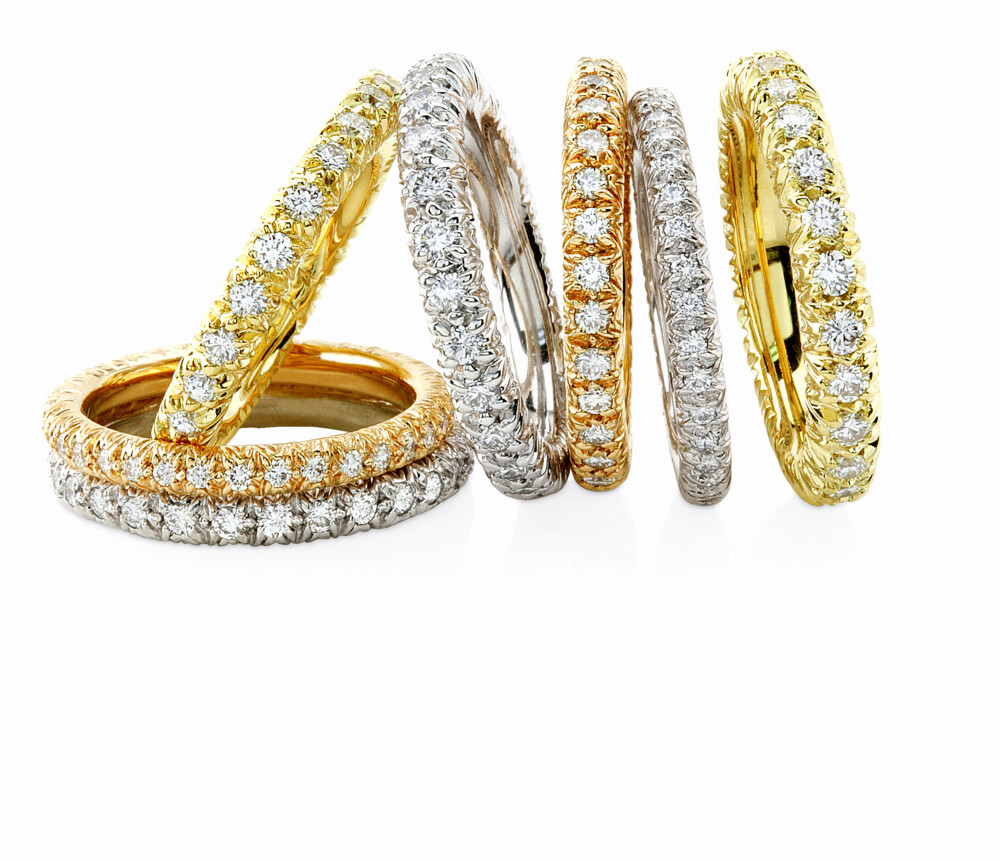 Image 2 for Eternity Ring With Diamonds (Yellow Gold)