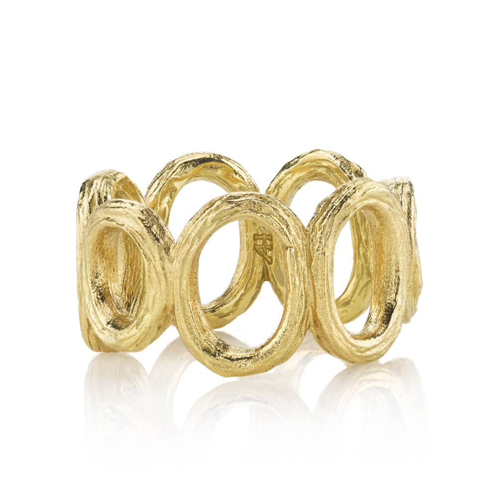 Wide Open Link Ring