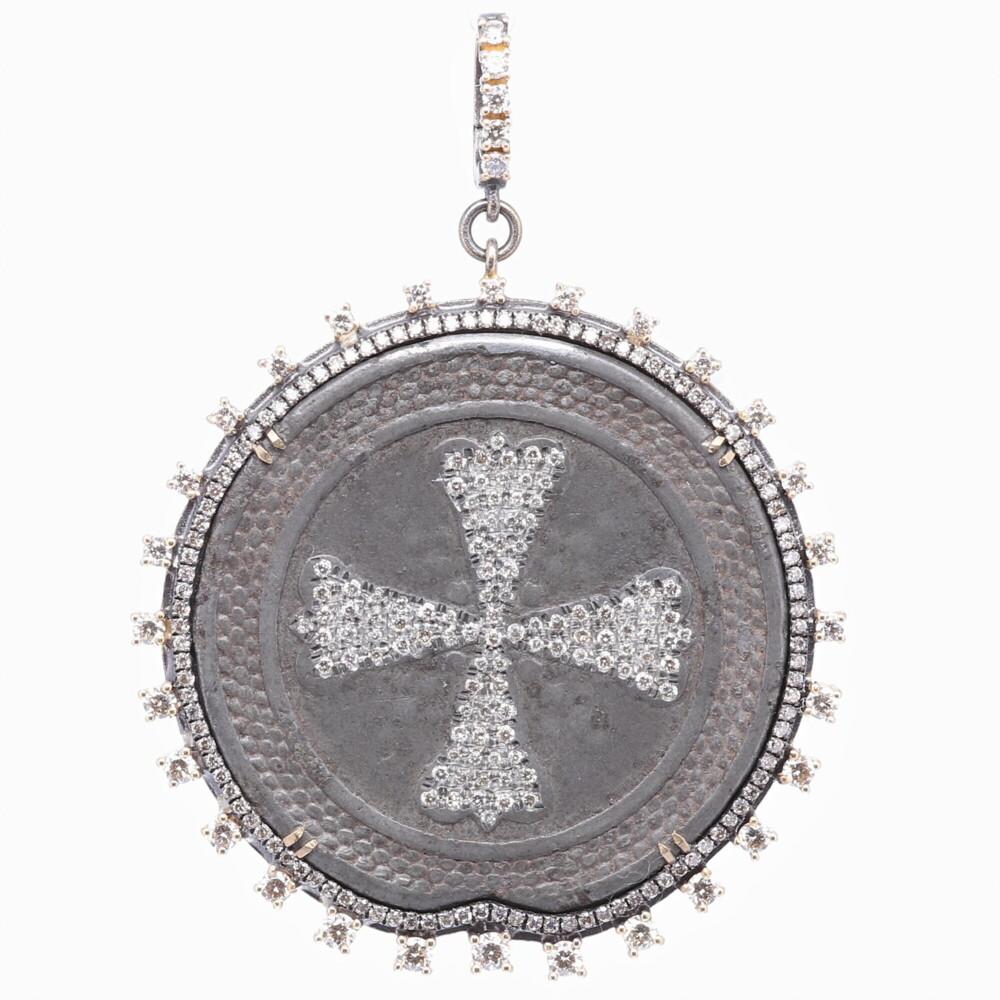 Russian Maltese 1700's Coat of Arms Pendant