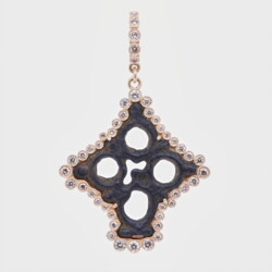 Closeup photo of Medieval Cross Pendant