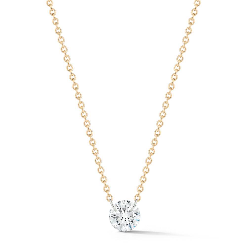 Solo Diamond Dangle Necklace