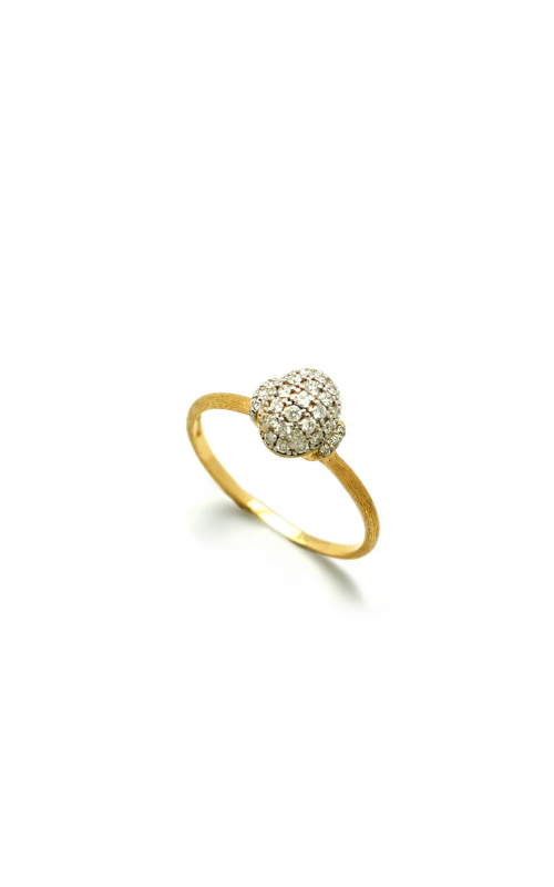 Closeup photo of Dancing In The Rain Elite Oval Pave Ring