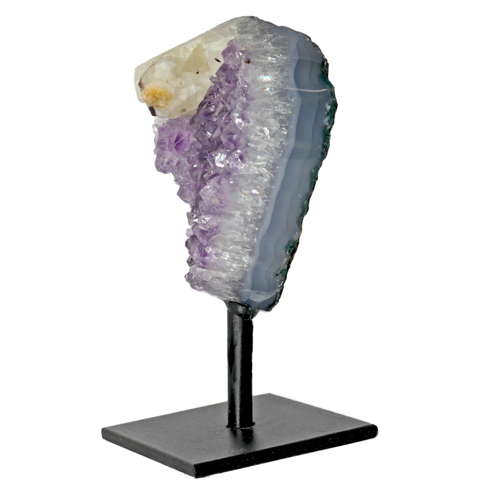 Amethyst Druze Mini Cluster On Post Stand D
