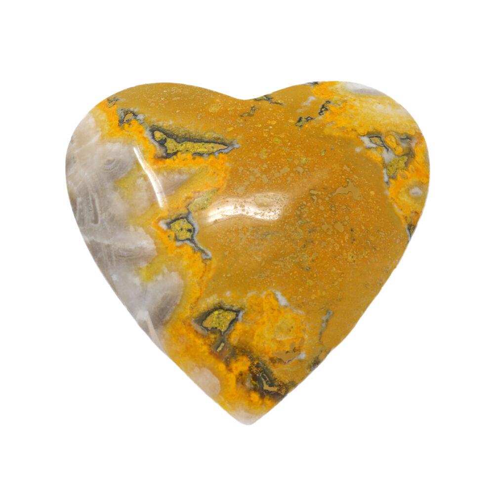 Bumblebee Jasper Heart -Large