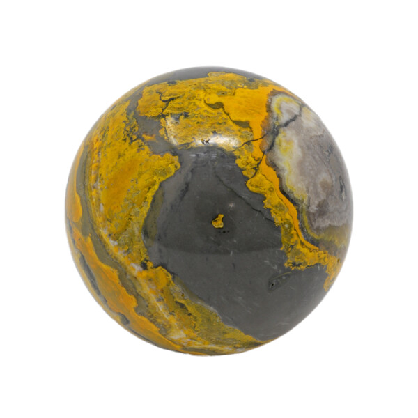 Closeup photo of Bumblebee Jasper Sphere 5.5cm