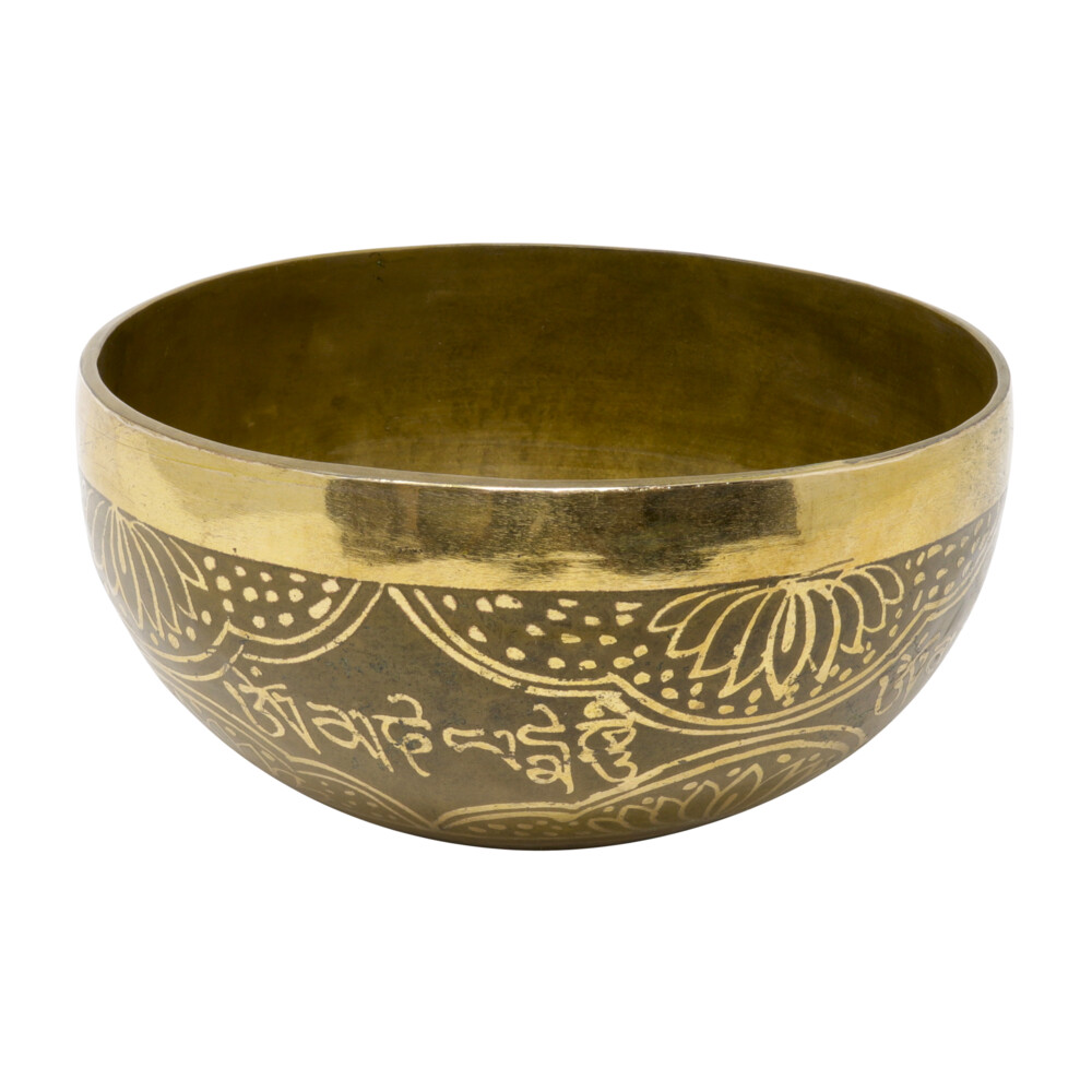 Image 2 for Brass Singing Bowl -Fatima Hand 6""