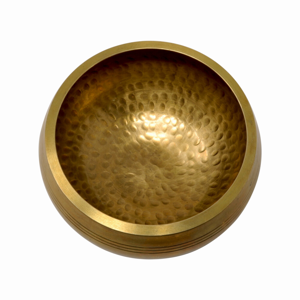 Image 2 for Plain Brass Singing Bowl -Hand Hammered