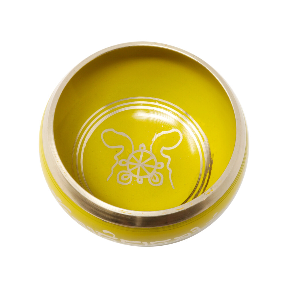 Brass Singing Bowl -Yellow