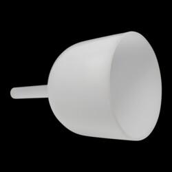 """Closeup photo of 8"""" Handheld Quartz Singing Bowl"""