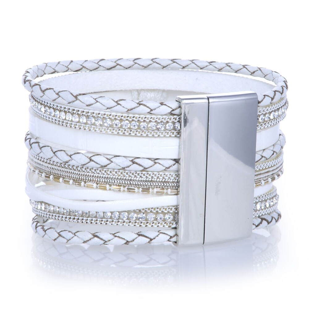 Tree Of Life White Multi Wrap Bracelet