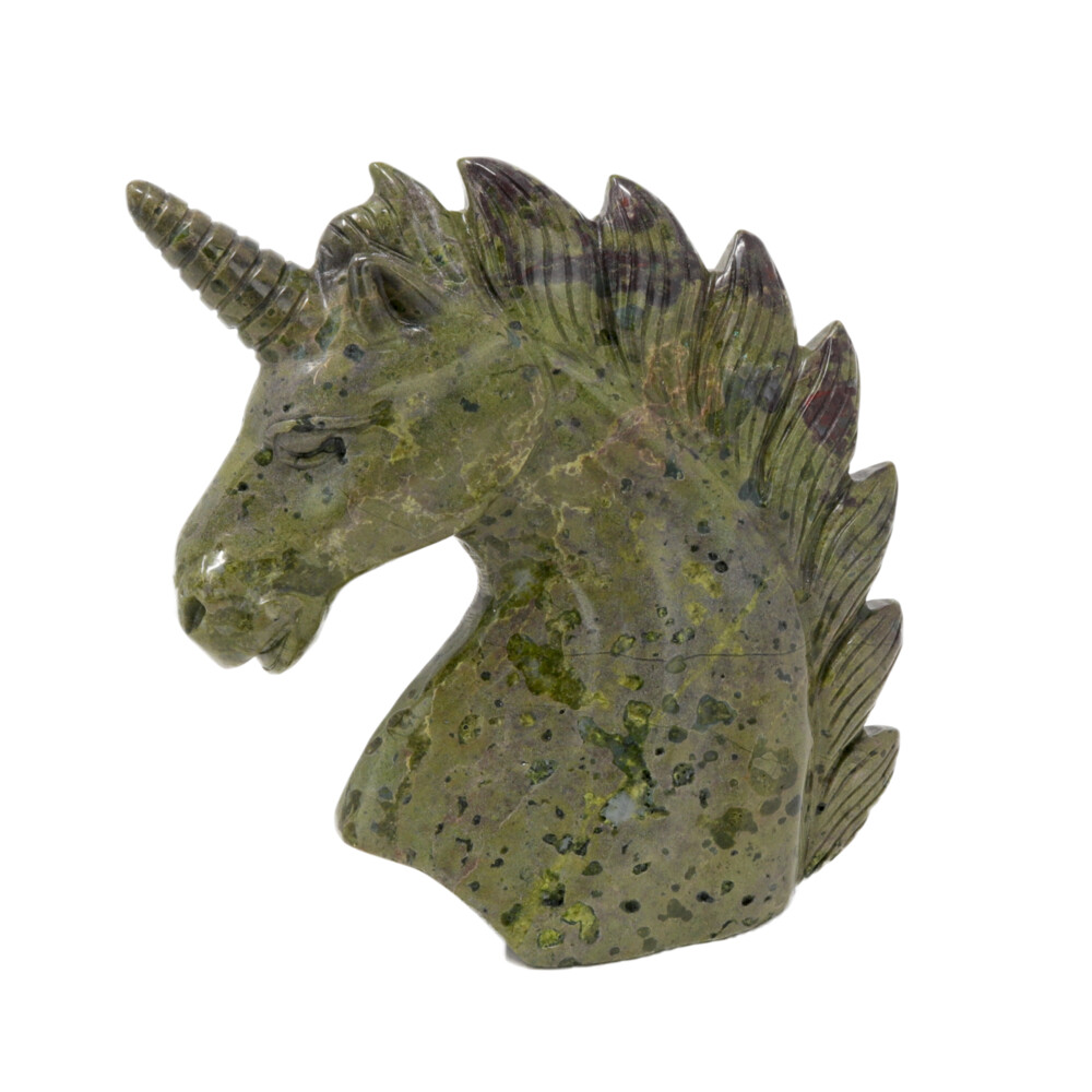 Image 2 for Dragon Bloodstone Carved Unicorn