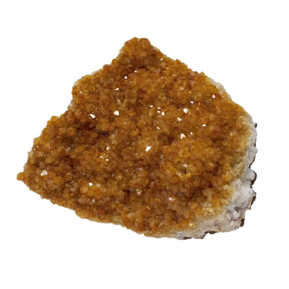 Image 2 for Citrine Crystal Plaque Small Crystals