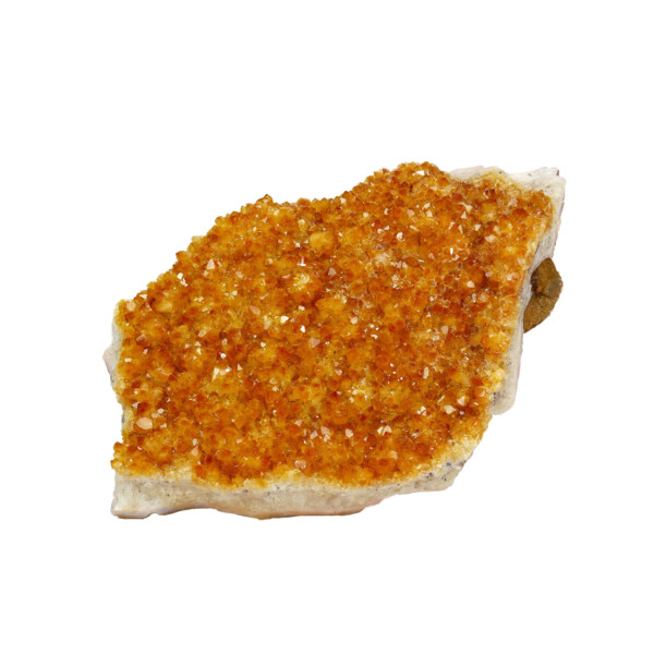 Closeup photo of Citrine Crystal Plaque Druze