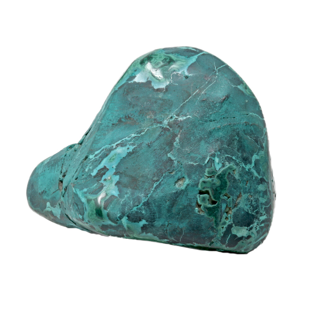 Polished Chrysocolla Malachite Specimen