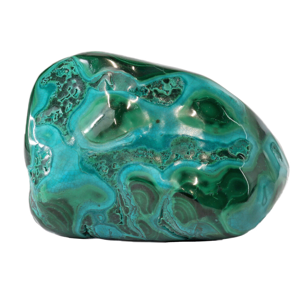 Image 2 for Chrysocolla Malachite Polished -Medium