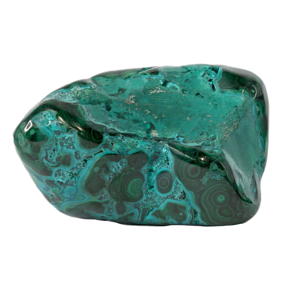 Chrysocolla Malachite Polished -Medium