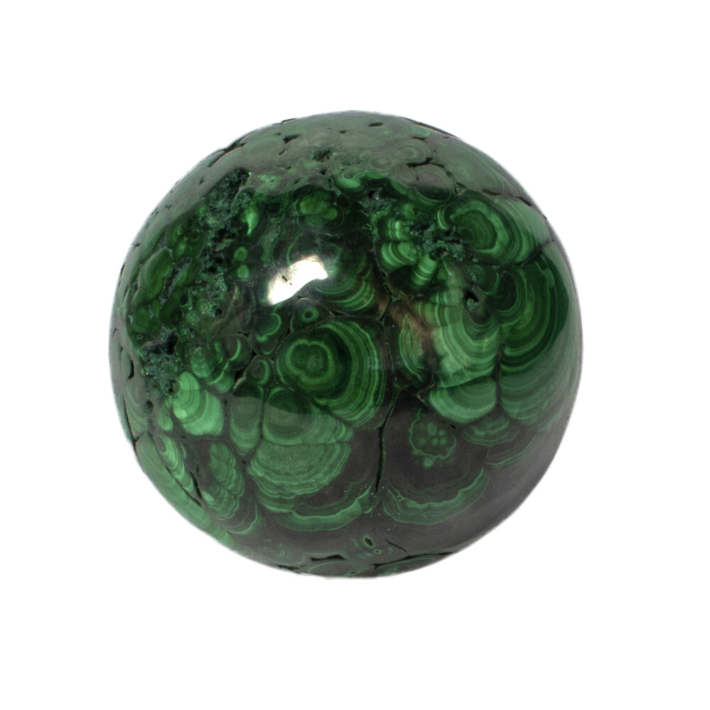 Image 2 for Malachite Sphere Polished 4 Inch Dia