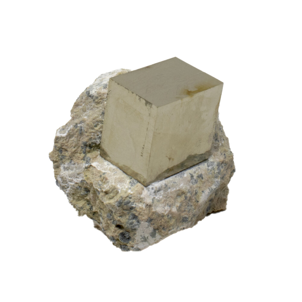 Image 2 for Cubic Pyrite Crystals In Matrix