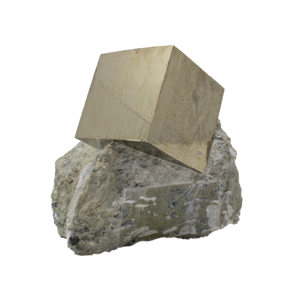 Image 3 for Cubic Pyrite Single In Matrix