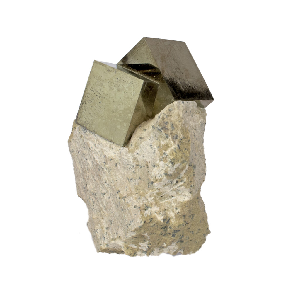 Cubic Pyrite Bonded In Matrix