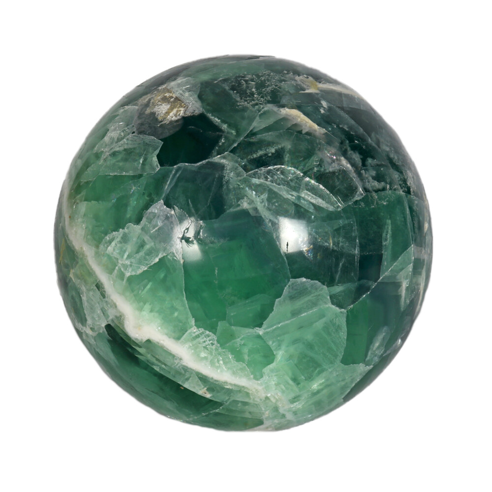 Image 2 for Fluorite Banded Sphere With Acrylic Stand