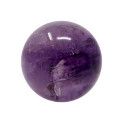 Closeup photo of Amethyst Sphere Polished