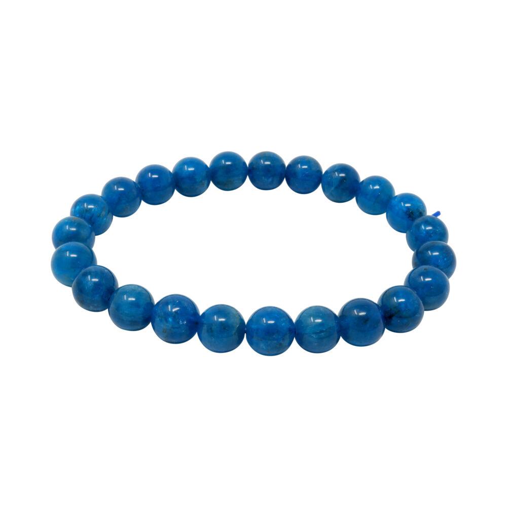 Blue Apatite Bracelet 8 - 9mm